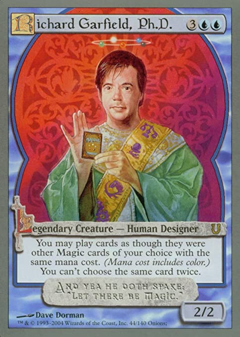 Amazon.com: Magic The Gathering - Richard Garfield, Ph.D. - Unhinged : Toys  & Games