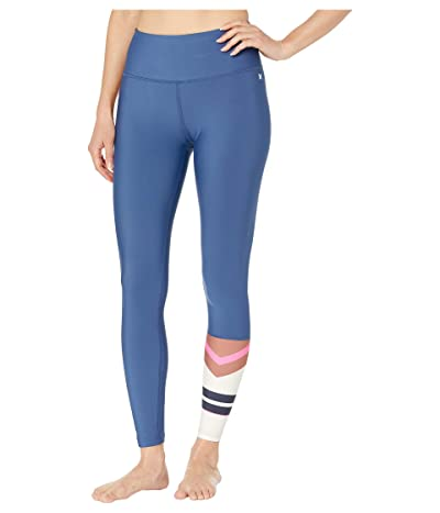 Hurley Quick Dry Maritime Surf Leggings (Mystic Navy) Women