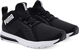 Puma Men's Enzo Eng Mesh Adults Male Black Contemporary Essentials Running Shoes