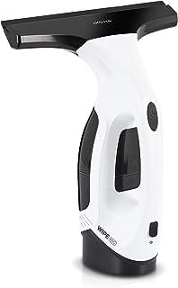 IKOHS WIPE PRO- Limpiacristales Eléctrico, Aspirador Eléctrico, Incluye bayeta, boquilla adaptadora y pulverizador spray de botella con gamuza incorporada