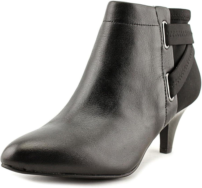 Alfani Womens Vandela2 Closed Toe Ankle Fashion Boots, Black, Size 8.5