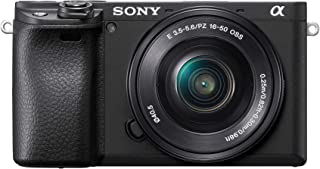 Sony Alpha ILCE-6400L 24.2MP Mirrorless Digital SLR Camera (Black) with 16-50mm Power Zoom Lens (APS-C Sensor, Real-Time Eye Auto Focus, 4K Vlogging Camera, Tiltable LCD) - Black