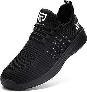 LARNMERN Chaussures de Sport Homme Femme étanche Running Basket Course Outdoor Fitness Gym Respirantes Sneakers