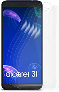 MoEx Anti Reflex displayskyddsfilm kompatibel med Alcatel 3 (2019) | skyddsfolie matt display film mot reflektioner, flexi...