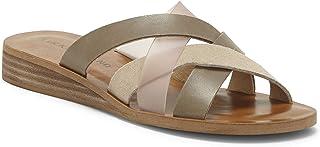 Lucky Brand Women's HALLISA Flat Sandal, Fossilized C, 6 M US