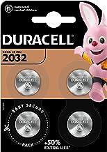 Duracell Specialty 2032 Lithium-Knopfzelle 3 V, 4er-Packung, mit kindersicherer Technologie, für die Verwendung in Schlüss...
