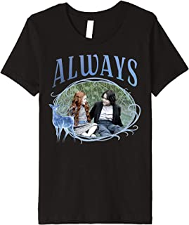 Kids Harry Potter Snape And Lily Always Patronus Portrait Premium T-Shirt