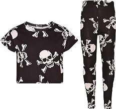 A2Z 4 Kids® Meisjes Tops Kids Designer's Skull Cro...