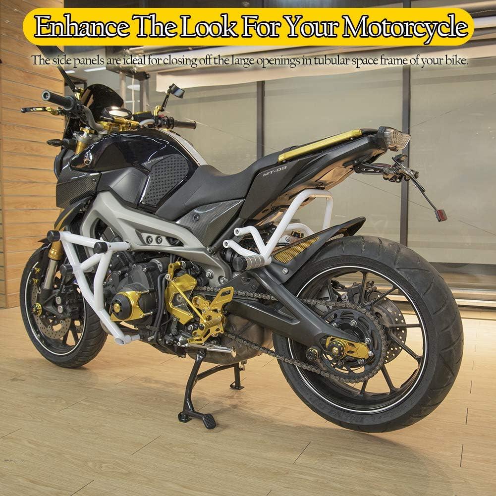 Kohlefaser Look FATExpress Motorrad Sitzseitenverkleidungen decken Verkleidungsverkleidungen f/ür 2014-2020 ab Yamaha MT FZ 09 MT-09 FZ-09 MT09 FZ09 2015 2016 2017 2018 2019 14-20