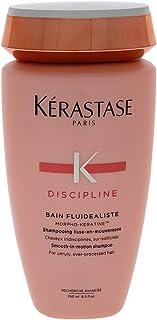 Kerastase Discipline Bain Fluidealiste Sulfate-FREE Shampoo, 8.5 Ounce Packaging May Vary