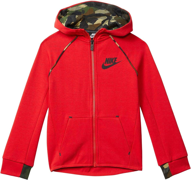 Nike Boy's Tech Fleece Zip-Up Hoodie (Little Kids)