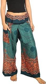 Women's Thai Fisherman Pants Yoga Trousers Wide Legs Pants