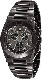 Kenneth Cole KC9300 Black Steel Bracelet & Case Mineral Men's Watch