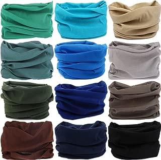 Headwear Head Wrap Sport Headband Sweatband 220 Patterns Magic Scarf 12PCS & 6PCS 12 in 1