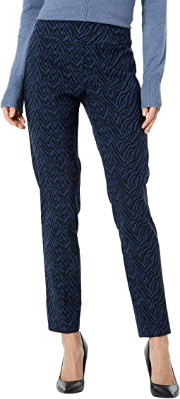 Wavelength Pull-On Ankle Pants with Back Slit Detail
