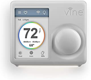 Vine 7day&8period Programmable Wifi Smart Thermostat Alexa compatible - 3rd gen