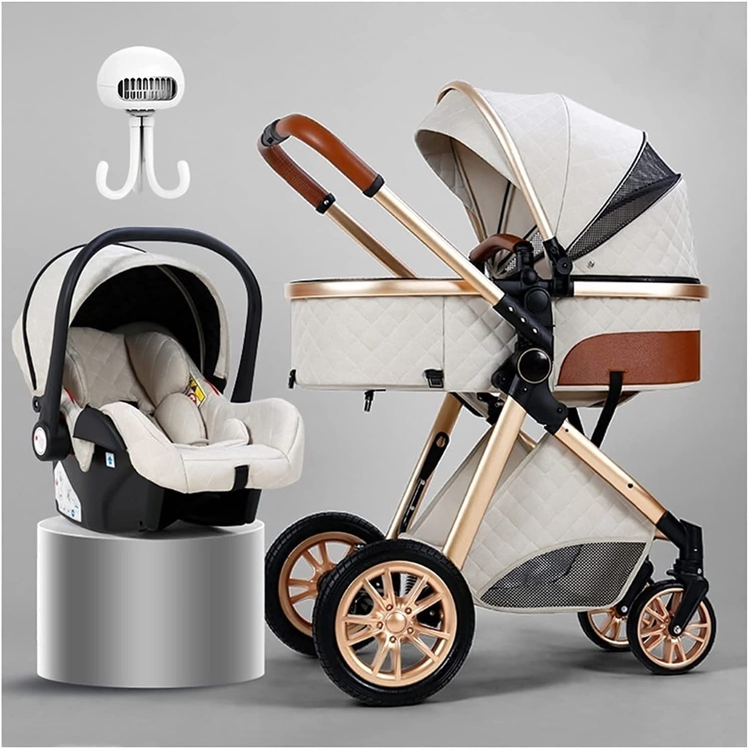 low-pricing beeyuk Baby car Combination Today's only Adjustable and Strol high Crib