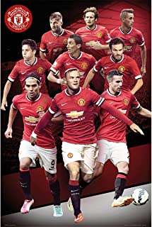 manchester united posters 2015