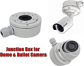 Hikvision DS-1280ZJ-XS Aluminum Bracket Junction Back Box for Hikvision DS-2CD2042WD-I, 2CD20xx Series Bullet Cameras