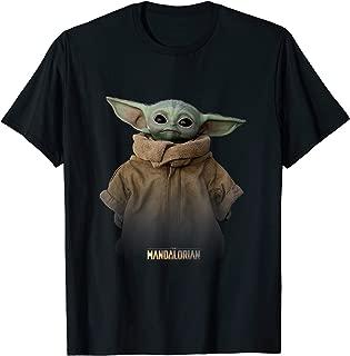 The Mandalorian Logo The Child Simple Portrait T-Shirt