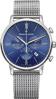 Maurice Lacroix - Reloj Cronógrafo para Hombre de Cuarzo con Correa en Acero Inoxidable EL1098-SS002-410-2