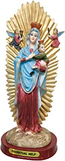 8 Inch Our Lady of Perpetual Help Statue Holy Figurine Religious Decoration Estatua (8 Inch)