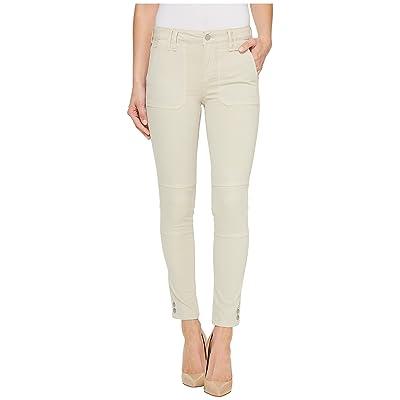 Calvin Klein Jeans Garment Dyed Cargo Ankle Skinny Pants (Pelican) Women