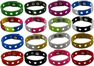 adjustable rubber bracelet