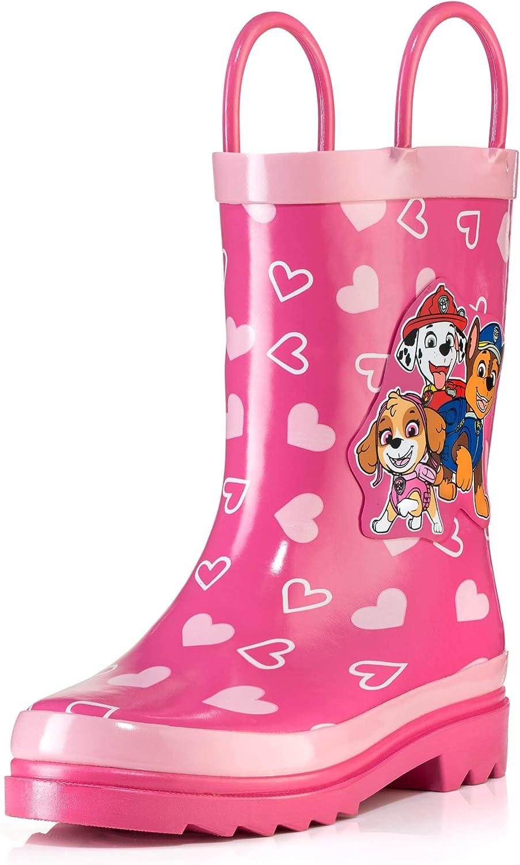 Nickelodeon Fixed price for sale Kids Girls' Paw San Jose Mall Patrol Printed Waterproof Character