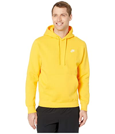 Nike NSW Club Hoodie Pullover (University Gold/University Gold/White) Men