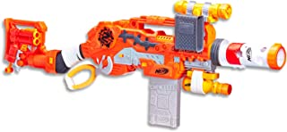 NERF Zombie Strike - Scravenger - Dual Blaster Survival Kit - Lever Action - 26 Elite Darts, Tactical Light & Scope - Kids Toys & Outdoor Games - Ages 8+