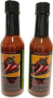 Trader Joes Jalapeno Pepper Hot Sauce, 2 Bottles