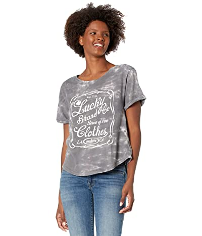 Lucky Brand Lucky Label Rolled Sleeve