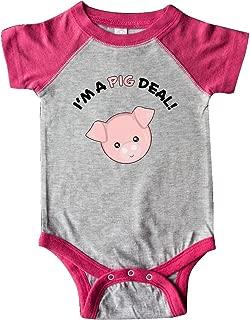 inktastic - I'm a Pig Deal Cute Pig Pun Infant Creeper 29b8f