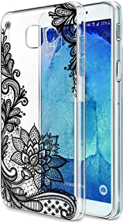 Samsung Galaxy A5 2017 Case, Eouine Ultra Slim Soft TPU Shockproof Protective Pattern Bumper Case Silicone Gel Cover for S...