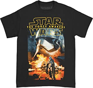 Rockoff Trade Men's Episode Vii Phasma and Troopers Short Sleeve T-Shirt
