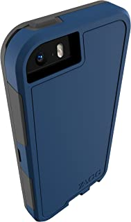 ZAGG InvisibleShield Arsenal Case with Screen Protector for Apple iPhone 5 / iPhone 5S / iPhone 5SE - Blue