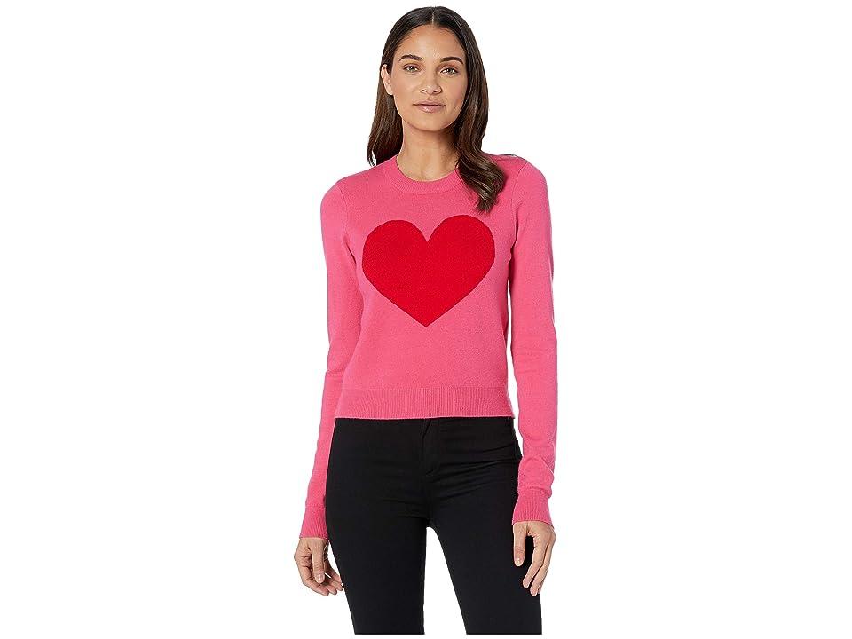 Volcom GMJ Heart Sweater (Electric Pink) Women