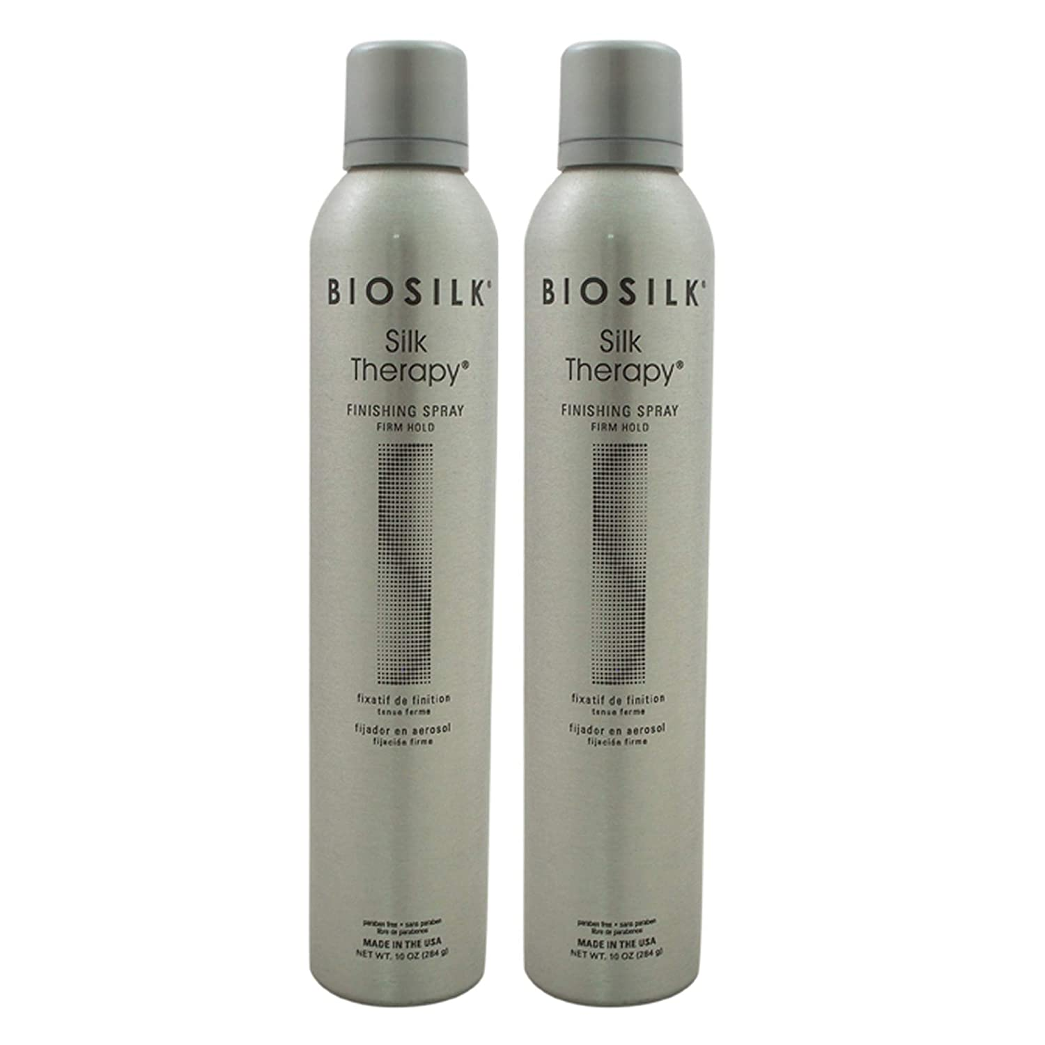 Silk Therapy Finishing Spray Columbus Mall - Firm Hold Unisex for Bargain by Biosilk