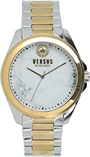 Versus Versace Womens Elmont Faux Stones Watch