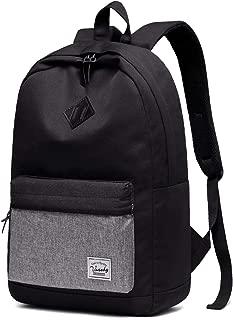 Backpack for Men and Women,VASCHY Water-Resistant Durable School Backpack