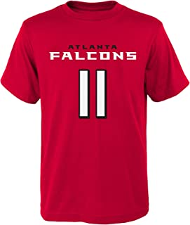Outerstuff NFL Julio Jones # 11 Youth Boys 8-20 Name & Number Short Sleeve Tee