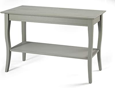 Linon Home Decor Products Farley, Grey Console Table