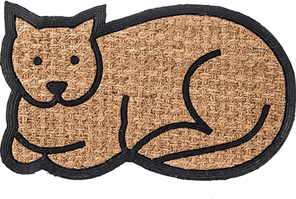 DD DD Entryway Rug Outdoor Welcome Mat Dog Cat Entry Carpet Waterproof Coconut Carpet 45x75cm Color 2 Size 1 Pack