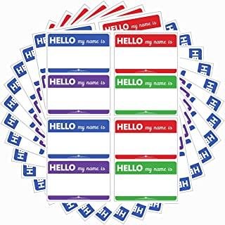 Best colored name badges Reviews