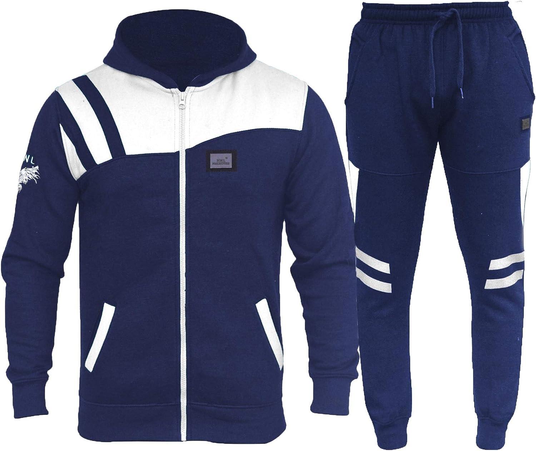 Sweatshirt und Hose Flirty Wardrobe HNL Herren-Trainingsanzug mit Kapuze /Übergr/ö/ße