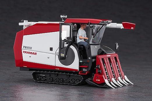 HASEGAWA Yanmar Combine YH6115 Plastic Model Kit 1//35 from JAPAN NEW