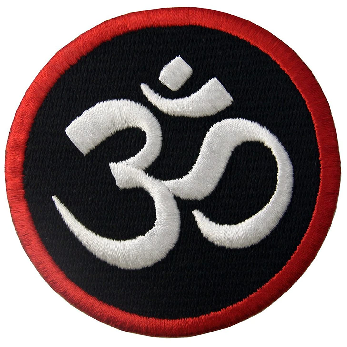Buddhist Symbol Inner Peace Patch Embroidered Morale Applique Iron On Sew On Emblem