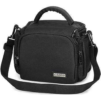 Digital Camera Case Shoulder Crossbody Lightweight DSLR and Compact Camera Bag