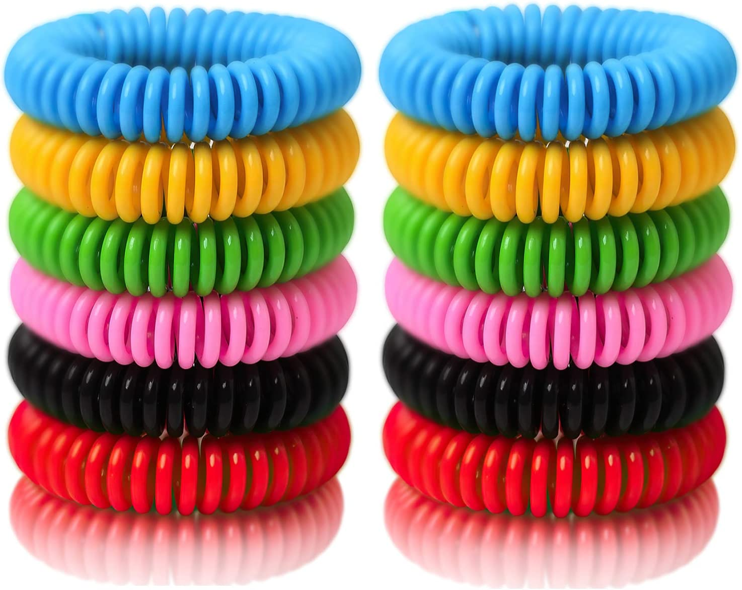 BuggyBands Mosquito Bracelets Dealing full price reduction Spasm price 24 Pack Wrapped DEE Individually